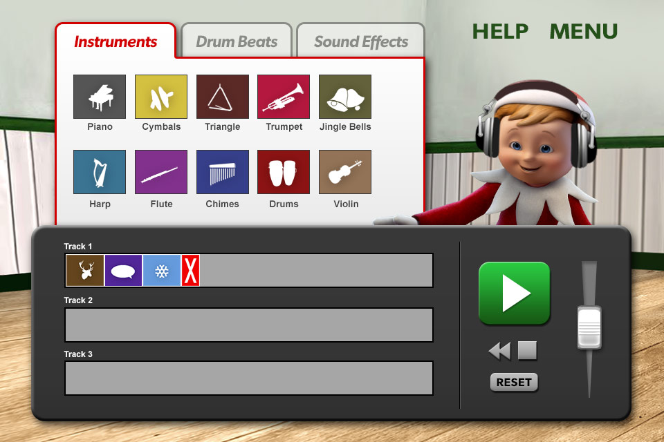 Screenshot Music Mixer – Elf on the shelf – Christmas Game