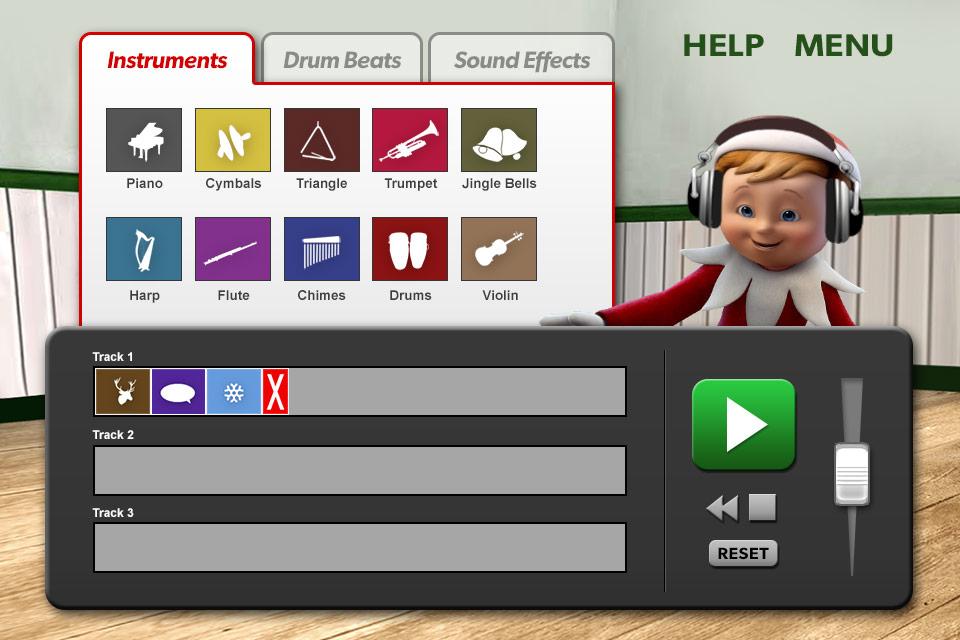 Screenshot Music Mixer – Elf on the shelf – Christmas Game